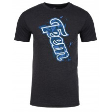 Teem's Shredding Edges charcoal limited edition t-shirt