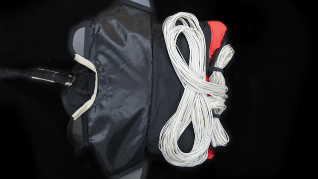 tapered 2-stowed delopyment bag Stage 1