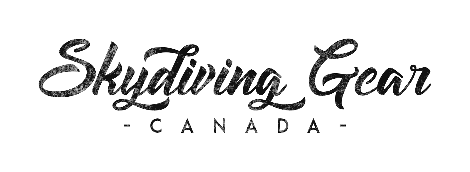 Skydiving Gear Canada Logo Cloud